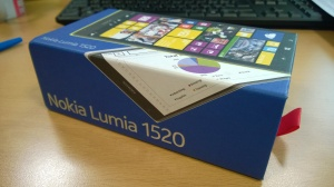 Lumia 1520 Box