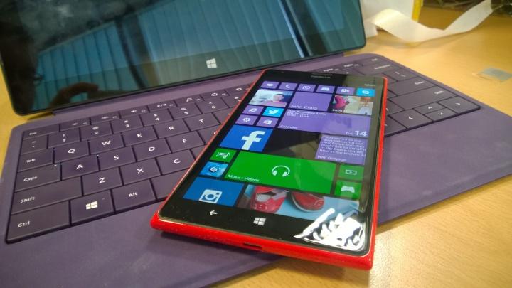 Lumia 1520 unboxed